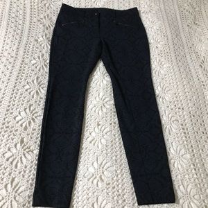W by Worth Patterned Skinny Pants 4